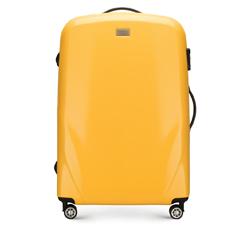 Большой чемодан, желтый, 56-3P-573-50, Фотография 1