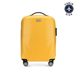 Чемодан ручная кладь, желтый, 56-3P-571-50, Фотография 1