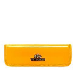 Футляр для ручек из лакированной кожи, желтый, 25-2-001-Y, Фотография 1