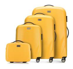 Комплект чемоданов, желтый, 56-3P-57K-50, Фотография 1