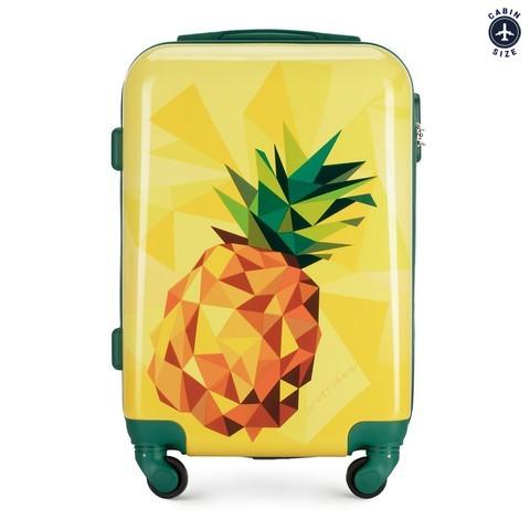 Маленький чемодан, желтый, 56-3A-641-34, Фотография 1