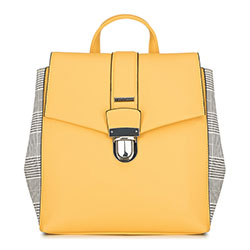 Рюкзак женский, желтый, 90-4Y-610-Y, Фотография 1