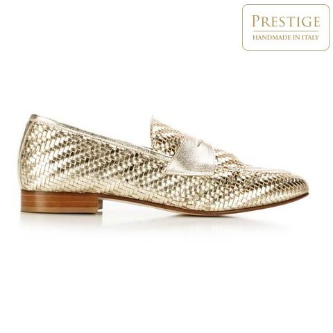 Dámské boty, zlatá, 92-D-128-0-39_5, Obrázek 1