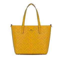 Dámská kabelka, žlutá, 82-4E-405-Y, Obrázek 1