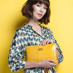 Dámská kabelka, žlutá, 86-4Y-662-9, Obrázek 1