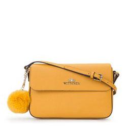 Dámská kabelka, žlutá, 89-4-435-Y, Obrázek 1