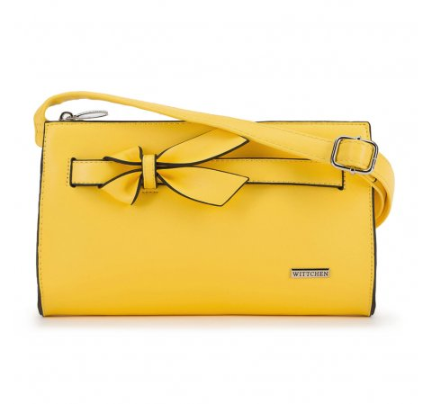 Dámská kabelka, žlutá, 90-4Y-763-Y, Obrázek 1