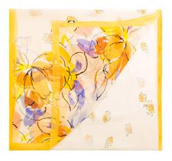 Dámská šála, žlutá, 85-7D-S40-X4, Obrázek 1