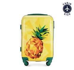 Kabinový cestovní kufr, žlutá, 56-3A-641-50, Obrázek 1