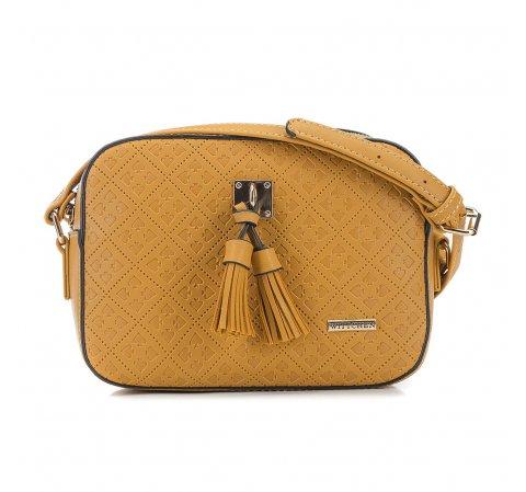 Dámská kabelka, žlutá, 90-4Y-609-7, Obrázek 1