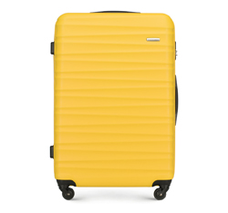 Velký kufr, žlutá, 56-3A-313-50, Obrázek 1