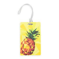 Jmenovka na zavazadlo, žlutá, 56-30-018-4Y, Obrázek 1