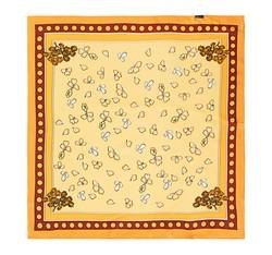Dámský šátek, žluto-oranžová, 86-7D-S13-X10, Obrázek 1