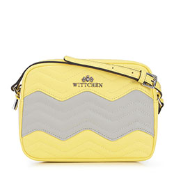 Dámská kabelka, žluto - šedá, 90-4E-614-8Y, Obrázek 1