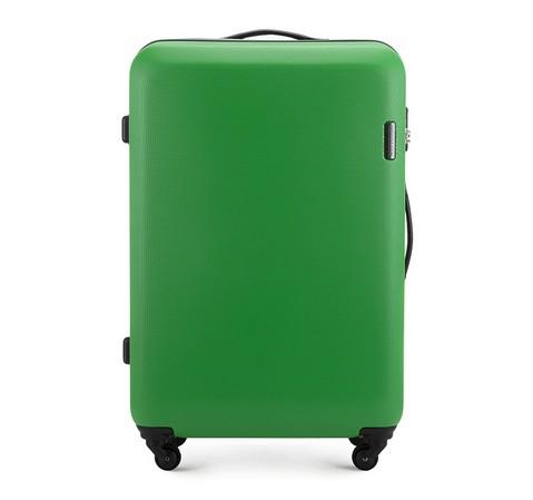 Nagy bőrönd, zöld, 56-3-613-90, Fénykép 1