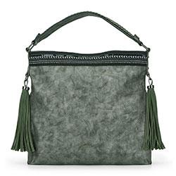 Női táska, zöld, 89-4Y-351-Z, Fénykép 1