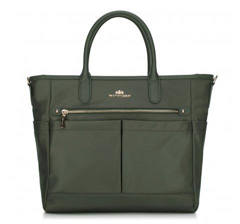 Női táska, zöld, 88-4E-218-4, Fénykép 1