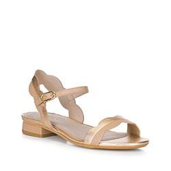 Обувь женская, золото - бежевый, 88-D-559-5-39, Фотография 1