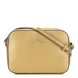 ная сумка-коробочка через плечо, золотой, 29-4E-005-G, Фотография 1