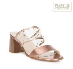 Обувь женская, золотой, 88-D-458-G-35, Фотография 1
