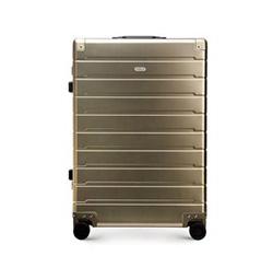 Средний чемодан, золотой, 56-3H-102-86, Фотография 1