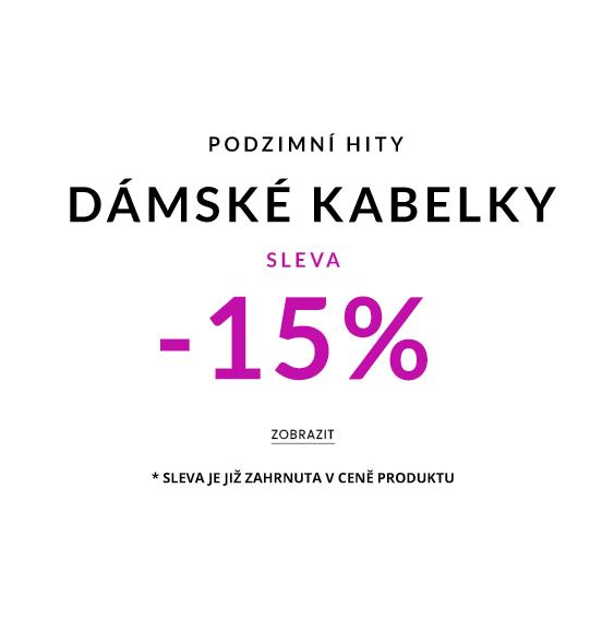 Dámské kabelky sleva -15%