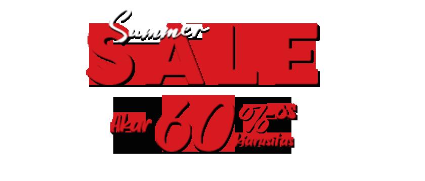 Summer sale akar 60%