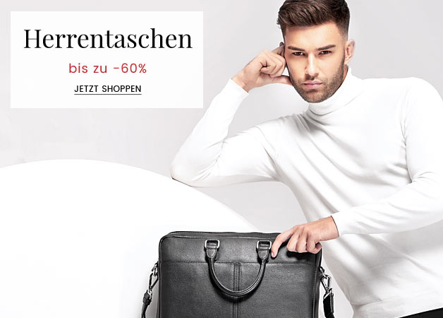 Herrentaschen  bis zu -60%