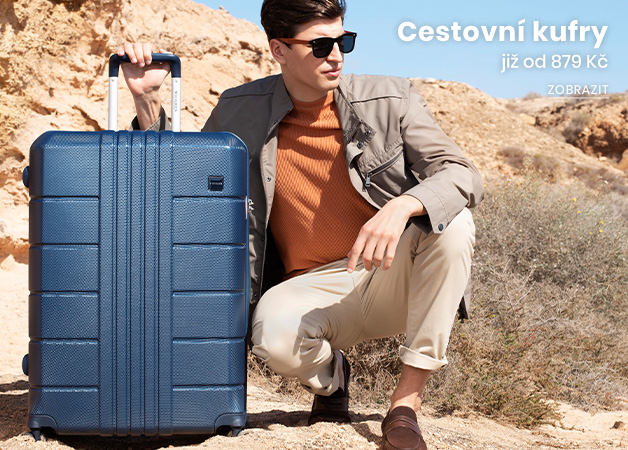 Cestovní kufry již od 879Kč