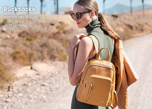 Taschen und Rücksäcke schon ab 19 EUR