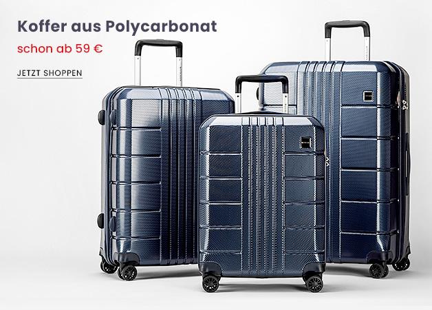 Koffer aus Polycarbonat