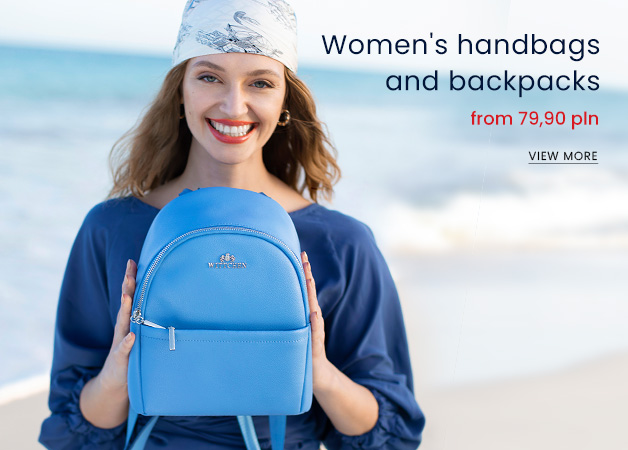 Women's handbags and backpacks