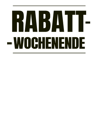 Rabatt wochenende bis -70%