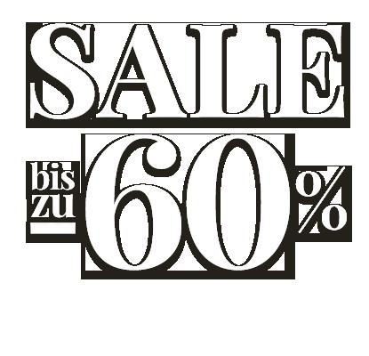 Sale bis zu 60%