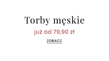 Torby męskie od 79,90