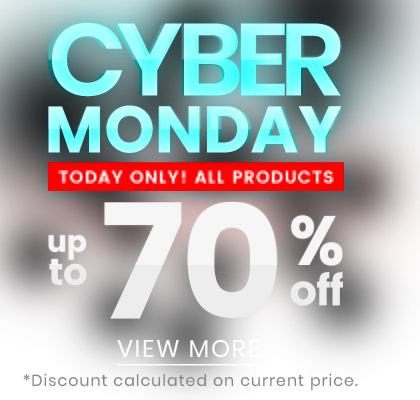 Cyber monday up to -70%