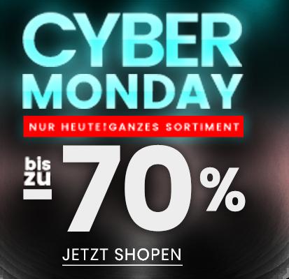 Cyber monday bis zu -70%