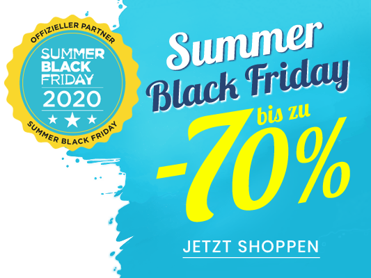 Summer black friday bis zu -70%