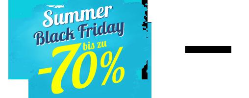 Summer black friday bis zu -70%