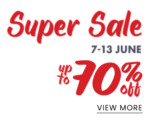 Super sale up to -70% off