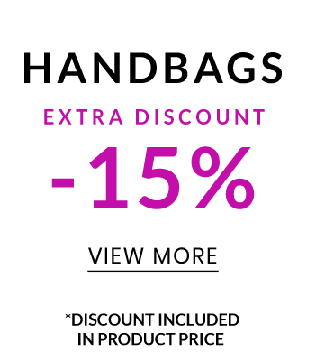 Handbags -15%