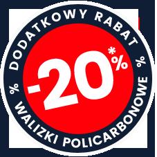 DODATKOWE 20%