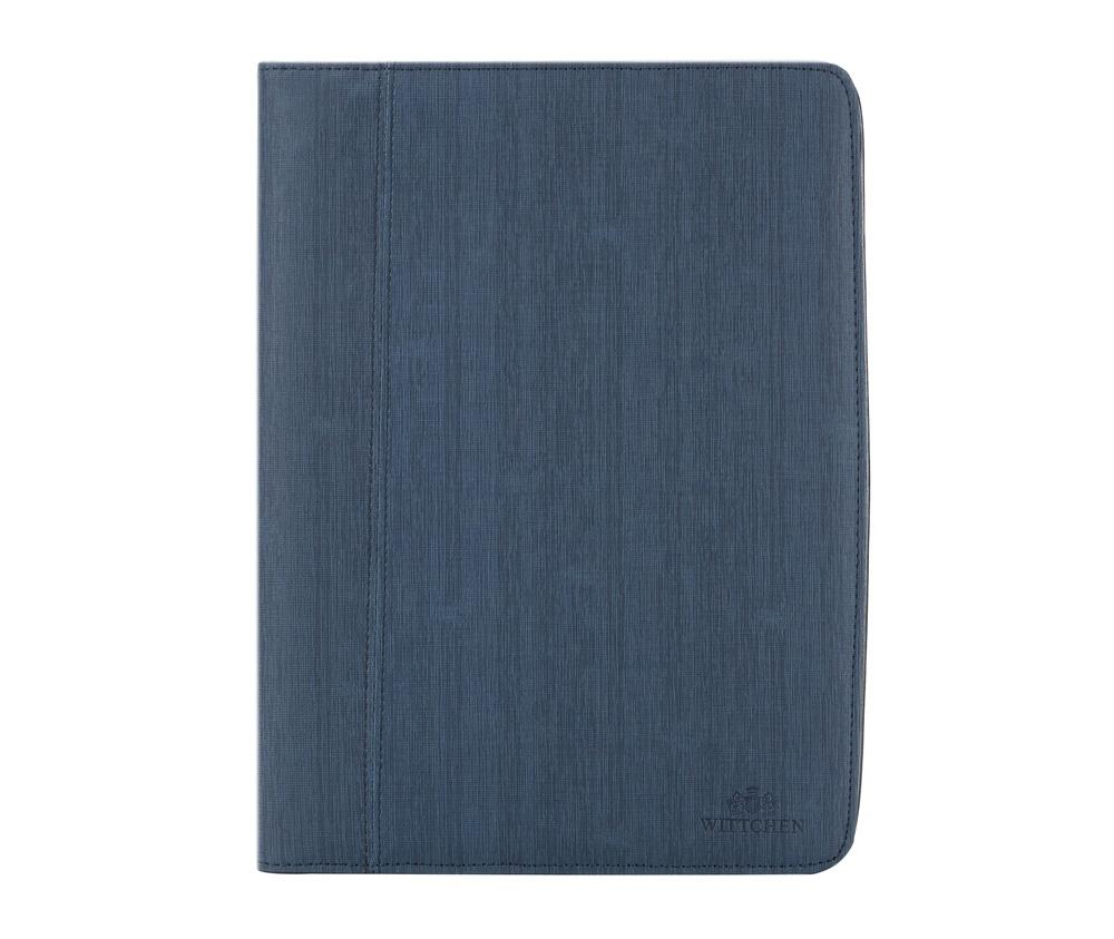 Деловая папка из полиэстераДеловая папка из коллекцииOffice, отличительной чертой модели является высокое качество материалов используемое при производстве и стильный дизайн.&#13;<br>&#13;<br>Особенности модели:&#13;<br>&#13;<br>&#13;<br>отделение для блокнота формата А-4;&#13;<br>2 карманаформата А-4;&#13;<br>крепление для ручки;&#13;<br>2 кармана , 1 из которых прозрачный , а второй на молнии<br><br>секс: унисекс<br>Цвет: синий<br>материал:: Полиэстер<br>высота (см):: 34,5<br>ширина (см):: 26<br>глубина (см):: 3