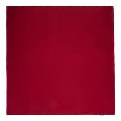 Women's small silk scarf, dar red, 91-7D-S14-2, Photo 1