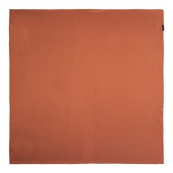 Women's silk scarf, brick red, 91-7D-S14-6, Photo 1