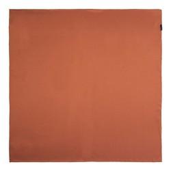 Women's small silk scarf, brick red, 91-7D-S14-6, Photo 1