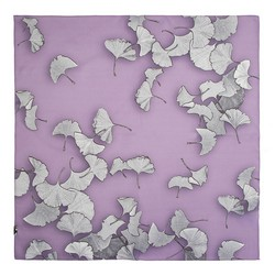 Women's silk scarf, lavender, 91-7D-S14-V, Photo 1