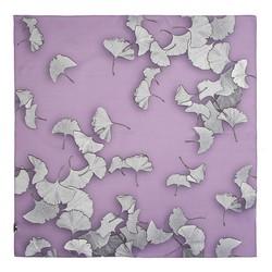 Women's small silk scarf, lavender, 91-7D-S14-V, Photo 1