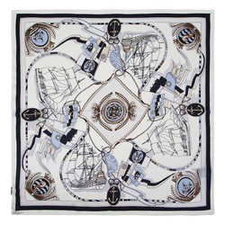 Women's small silk scarf, , 91-7D-S14-X4, Photo 1