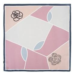 Apaszka z jedwabiu, jasny róż, 93-7D-S01-52, Zdjęcie 1